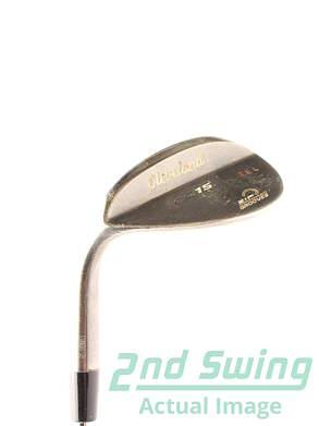 Cleveland CG15 Black Pearl Wedge Sand SW 56* 14 Deg Bounce True Temper Dynamic Gold S200 Steel Stiff Left Handed 35.5 in