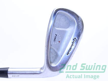 TaylorMade Rac TP Combo Single Iron 8 Iron Stock Steel Shaft Steel Stiff Right Handed 36.25 in