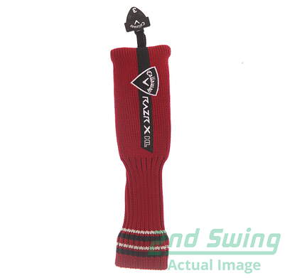 Callaway Razr X HL Hybrid Headcover Red and Black Sock Style with Adjustable Tag