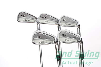 Titleist 710 CB Iron Set 6-PW Rifle 6.5 Steel X-Stiff Right Handed 37.5 in