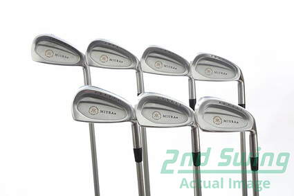 Miura Passing Point PP-9003 Iron Set 4-PW Dr. Golf Stiff Graphite Right Handed 38.5 in
