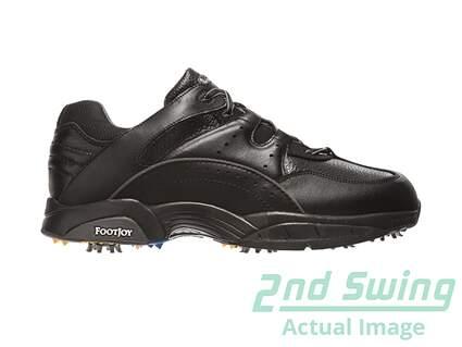 New Mens Footjoy Black HydroLite Golf Shoes Size 9 Medium