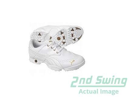 New Womens Golf Shoes Puma Dotty Medium 6.5 White MSRP $139.99