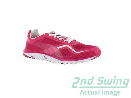 New Womens Puma Faas Lite Golf Shoe Medium 6.5 Pink 18684807