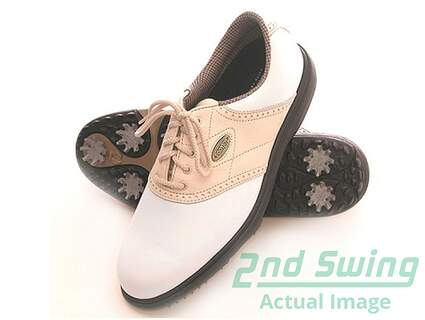 New Womens Footjoy Comfort Golf Shoe Narrow 7 White 98571