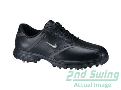 New Mens Golf Shoes Nike Heritage Medium 7.5 Black MSRP $75.00