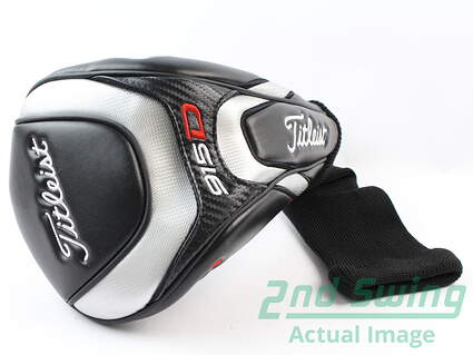 Titleist 915 Driver Headcover Head Cover Black Red Silver 915D Golf