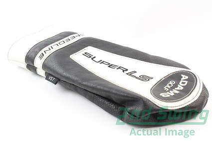 Adams Speedline Super LS Driver Headcover Head Cover Golf Black White