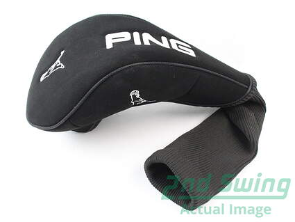 Ping Mr Ping Driver Headcover Black White Universal Head Cover Golf