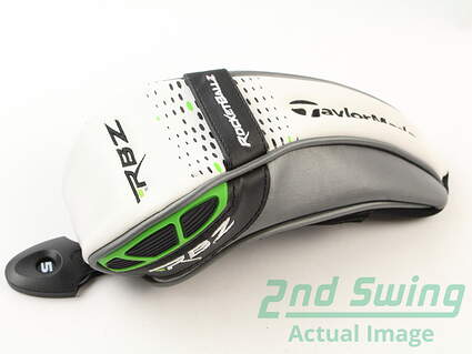 TaylorMade RocketBallz RBZ Hybrid Green With Stitch Headcover Head Cover Golf
