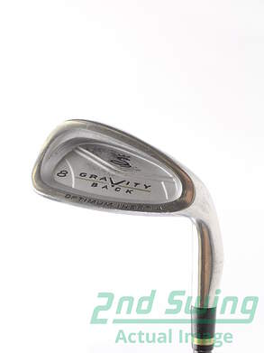 Cobra Gravity Back Single Iron 8 Iron Stock Graphite Shaft Graphite Stiff Right Handed 36.5 in