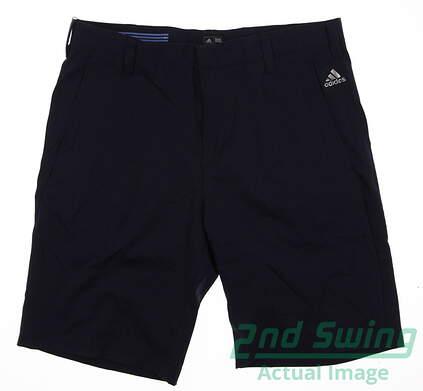New Mens Adidas Golf Shorts Size 32 Navy Blue