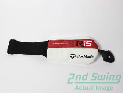 New TaylorMade R15 Hybrid Headcover Red White R 15 Head Cover Golf