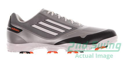 New Mens Golf Shoe Adidas Adizero One Medium 9 Gray / White Q46802 MSRP $150