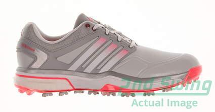 New Womens Golf Shoe Adidas Adipower Boost Medium 8.5 Gray MSRP $160