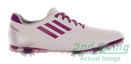 New Womens Golf Shoe Adidas Adizero Tour Medium 7 White MSRP $130