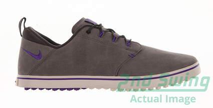 New Womens Golf Shoe Nike Lunaradapt Medium 5.5 Gray MSRP $70
