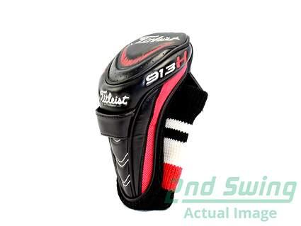 Titleist 913 Hybrid 913H Headcover Club Head Cover Golf Adjustable Tag