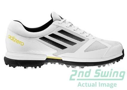 New Mens Golf Shoes Adidas Adizero Sport Medium 8.5 White 672204 MSRP $115