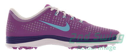 New Womens Golf Shoe Nike Lunar Empress Medium 9.5 Purple MSRP $100