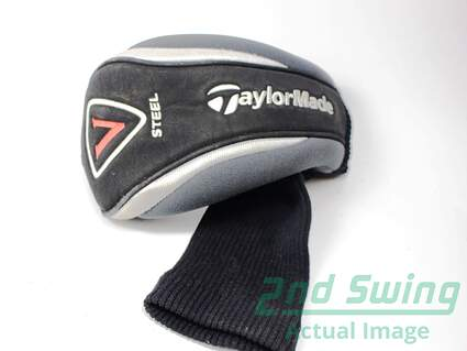 TaylorMade V Steel Fairway Wood Headcover Head Cover Black No Tags Golf HC