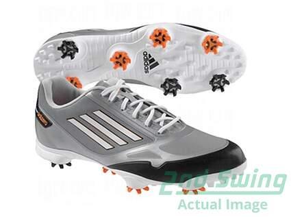 New Mens Golf Shoes Adidas Adizero One Medium 10 Grey / White Q46802 MSRP $150