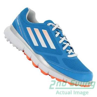 New Womens Golf Shoe Adidas Adizero Sport Medium 8 Blue MSRP $120