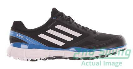 New Mens Golf Shoes Adidas Adizero Sport II Medium 8 Black Q46862 MSRP $120