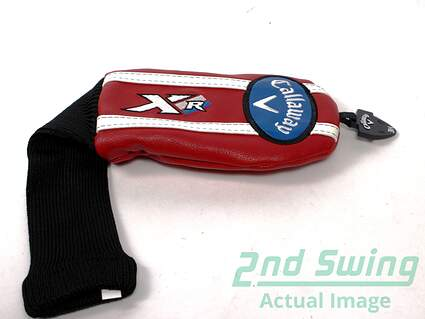 Callaway XR Red Hybrid Headcover Head Cover Adjustable Tag
