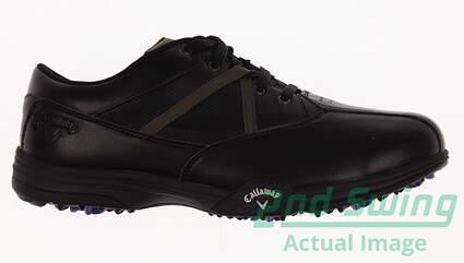 New Mens Golf Shoe Callaway Chev Comfort Medium 9.5 Black MSRP $130
