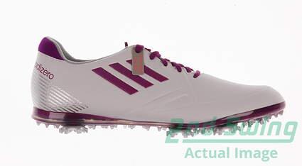 New Womens Golf Shoe Adidas Adizero Tour Medium 6 White MSRP $130