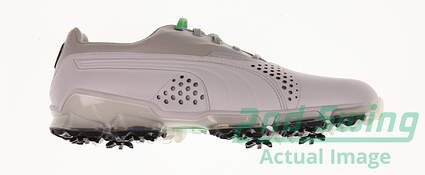 New Mens Golf Shoes Puma Titantour Medium 10.5 White/Gray Violet 188056-04 MSRP $200