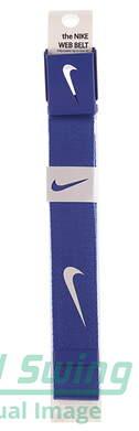 New Mens Nike Golf Web Belt Blue One Size Fits Most