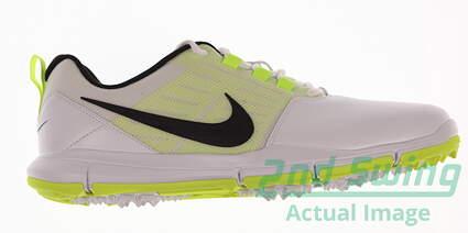 New Mens Golf Shoe Nike Explorer SL 9 White/Lime Green MSRP $120