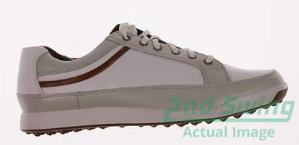 New Mens Golf Shoe Footjoy Contour Casual Medium 8.5 White MSRP $140