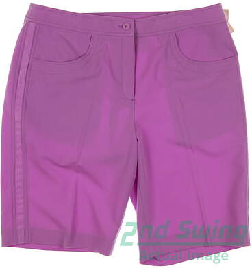 New Womens EP Pro Golf Shorts Size 10 Purple MSRP $70