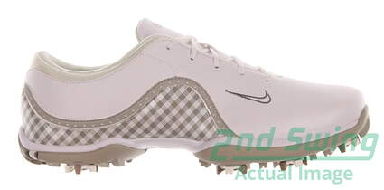 New Womens Golf Shoes Nike Ace Medium 9.5 White 418368-103 MSRP $100