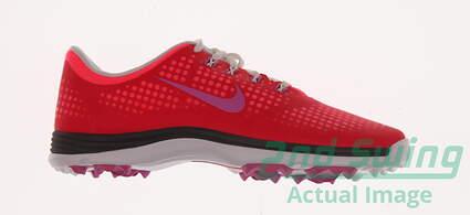 New Womens Golf Shoe Nike Lunar Empress Medium 8.5 Pink MSRP $130