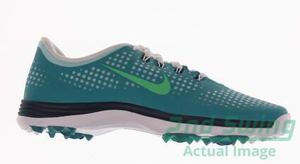 New Womens Golf Shoe Nike Lunar Empress Medium 7 Blue MSRP $130
