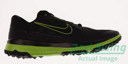 New Mens Golf Shoe Nike Fi Impact Medium 10 Black MSRP $160