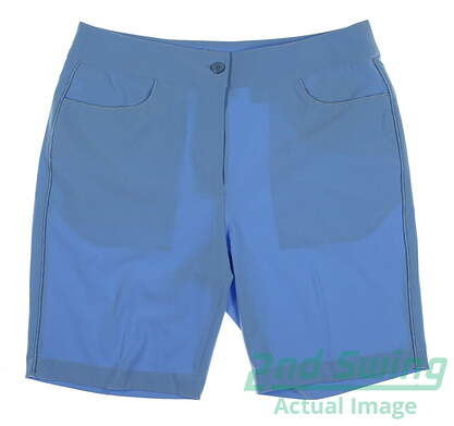 New Womens EP Pro Golf Shorts Size 8 Blue MSRP $50
