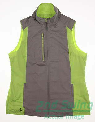 New Womens Antigua Golf Vest Medium M Multi MSRP $50