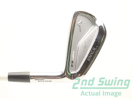 Mizuno MP-64 Single Iron 4 Iron Matrix Ozik Program 130 Graphite Stiff Right Handed 38.5 in