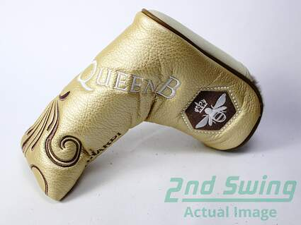 Bettinardi Queen B 1 Gold Blade Putter Headcover Head Cover Golf