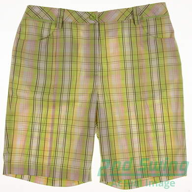 New Womens EP Pro Golf Shorts Size 12 Multi MSRP $50