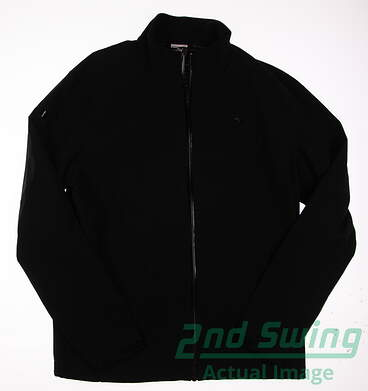 New Mens Puma Sport Lux Storm Jacket Medium M Black MSRP $175