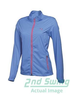 New Womens Puma Golf W Tech Jacket Small S Ultramarine MSRP $90
