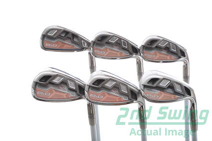 Cobra Bio Cell Silver Womens Iron Set 7-PW GW SW Cobra Bio Cell Iron Graphite Graphite Ladies Right Handed 36 in