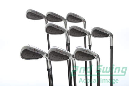 TaylorMade Supersteel Iron Set 2-PW TM Bubble Graphite Stiff Right Handed 38.25 in
