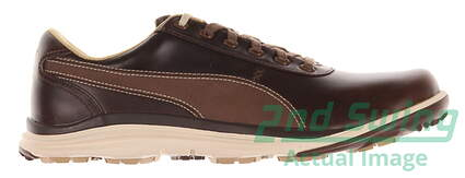 New Mens Golf Shoe Puma BioDrive Leather WB 11.5 Brown MSRP $180
